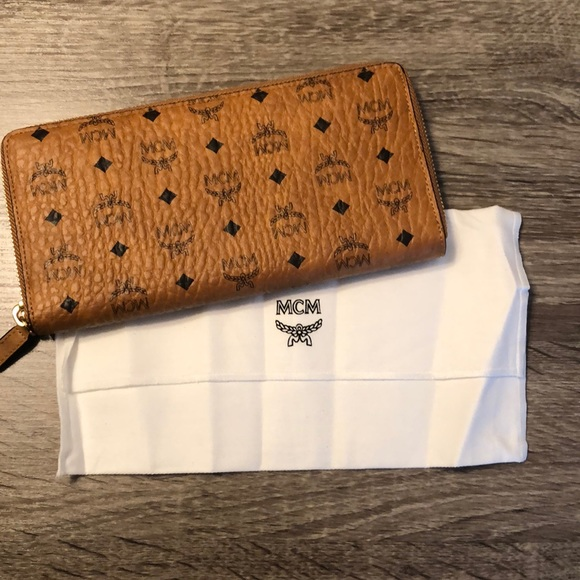 MCM Handbags - MCM Zip around wallet
